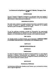 CONVENCIDOS TENIENDO EN CUENTA CONSCIENTES POR TANTO: