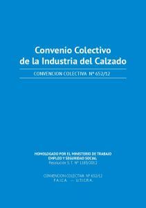 Convenio Colectivo de la Industria del Calzado
