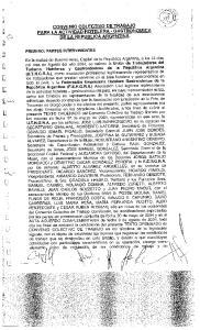 CONVENIO COLECTIVO DE TRABAJO PARA LA ACTIVIDAD` HOTELERA - GASTRONOMICA DE LA REPUBLICA ARGENTINA
