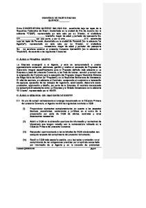 CONVENIO DE PARTICIPACION QUEIROZ-