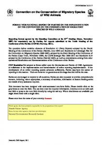 Convention on the Conservation of Migratory Species of Wild Animals