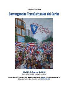 Convergencias TransCulturales del Caribe