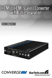 Converter with Audio Separation HDMI2HDMI