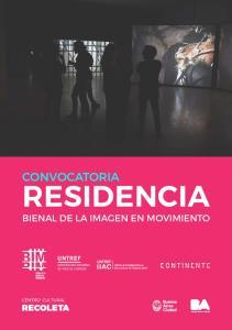 CONVOCATORIA RESIDENCIA BIENAL DE LA IMAGEN EN MOVIMIENTO