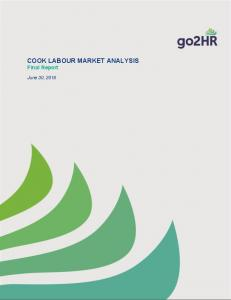 COOK LABOUR MARKET ANALYSIS Final Report. June 30, 2016
