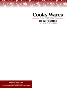 Cooks Wares FOR A FINER KITCHEN