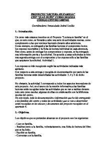 Coordinadora: Inmaculada Jodral Losilla