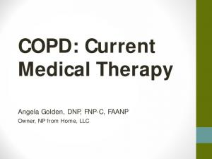 COPD: Current Medical Therapy