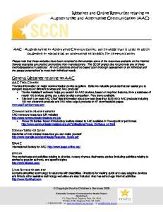 Copyright Novita Children s Services 2009