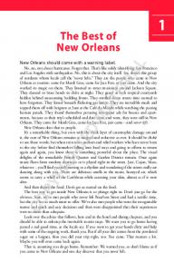 COPYRIGHTED MATERIAL. The Best of New Orleans