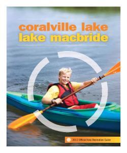 coralville lake lake macbride