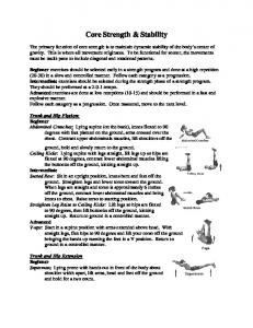 Core Strength & Stability