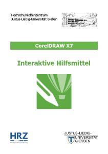 CorelDRAW X7 Interaktive Hilfsmittel