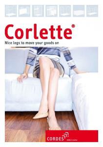 Corlette. Nice legs to move your goods on