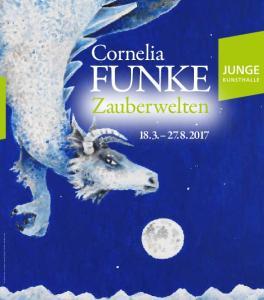Cornelia FUNKE. Zauberwelten Cornelia Funke, Saum des Himmels (Detail), 2016 Cornelia Funke