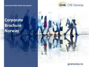 Corporate Brochure Norway