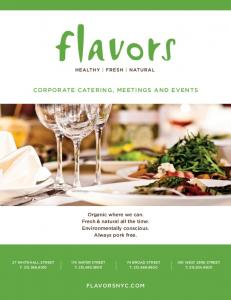 CORPORATE CATERING, MEETINGS AND EVENTS
