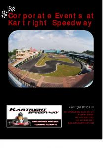 Corporate Events at Kartright Speedway