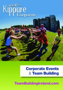 Corporate Events & Team Building. TeamBuildingIreland.com