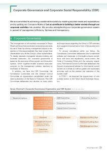 Corporate Governance and Corporate Social Responsibility (CSR)