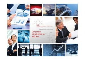 Corporate Introduction to IMC Intl