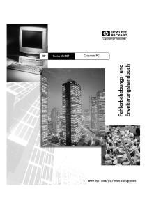 Corporate PCs. Fehlerbehebungs- und. Erweiterungshandbuch. English 1