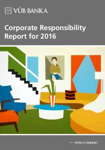 Corporate Responsibility Report for 2016