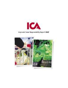 Corporate Social Responsibility Report 2005