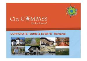 CORPORATE TOURS & EVENTS - Romania