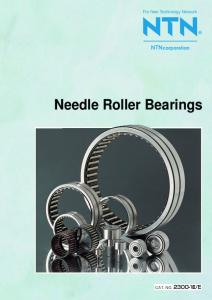 corporation Needle Roller Bearings