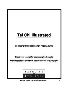 CORRESPONDENCE EDUCATION PROGRAM