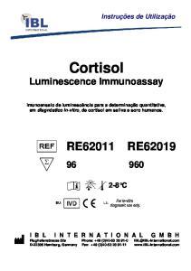 Cortisol Luminescence Immunoassay