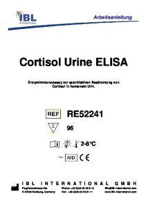 Cortisol Urine ELISA