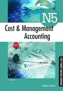 COST AND MANAGEMENT ACCOUNTING N5