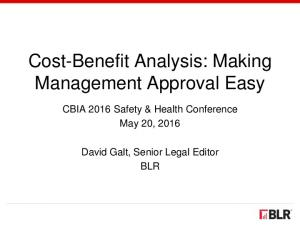 Cost-Benefit Analysis: Making Management Approval Easy