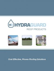 Cost Effective, Proven Roofing Solutions
