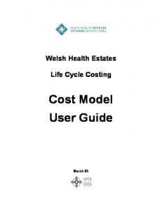 Cost Model User Guide