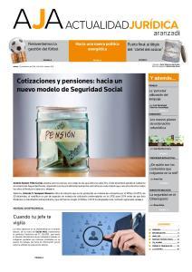 Cotizaciones y pensiones: hacia un nuevo modelo de Seguridad Social