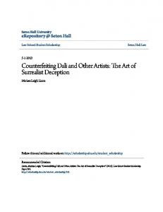 Counterfeiting Dali and Other Artists: The Art of Surrealist Deception