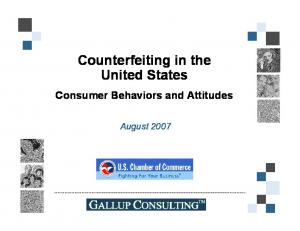 Counterfeiting in the United States