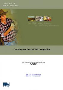 Counting the Cost of Soil Compaction