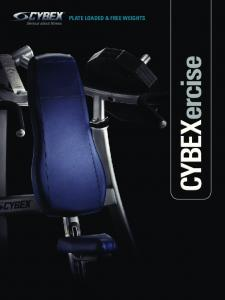 countless options with plate loaded & free WeIGHTS unparalleled performance e cis er