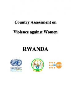 Country Assessment on. Violence against Women RWANDA