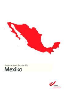Country factsheet - December Mexiko