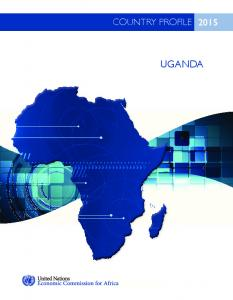 COUNTRY PROFILE 2015 UGANDA