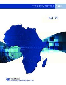 COUNTRY PROFILE KENYA