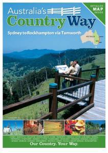 Country Way. Sydney to Rockhampton via Tamworth