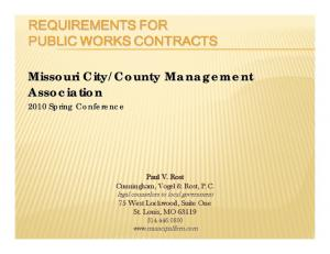 County Management Association