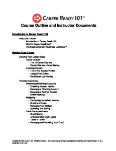 Course Outline and Instructor Documents