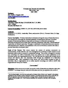 Course Prerequisites: CMMK 121, CST 295, OSTD 300, Senior Status